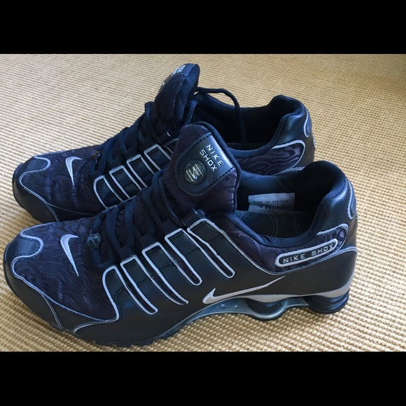 0e4090b45b9 ... inexpensive nike shox nz mens size 9.5 excellent 2a6ea 92f20